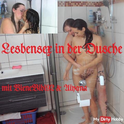 Lesbensex in der Dusche