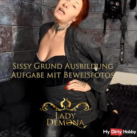 Sissy beginner Schwanzfotzen training! Outfit, piss, mouth cunt, asshole, bonding, chastity m