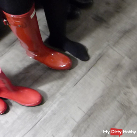 You have a rubber boots fetish? Then take a look at my collection / FSH & Glanzshort