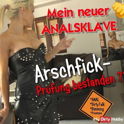 My new ANAL CLUB: Arschfick exam passed?