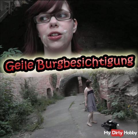 Horny castle visit