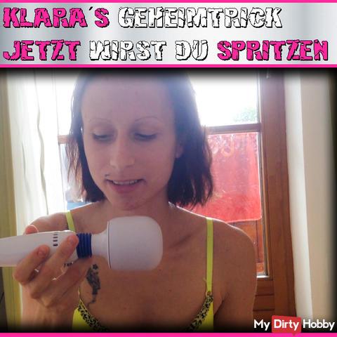 Klara's secret trick !!! now you will SPRAY