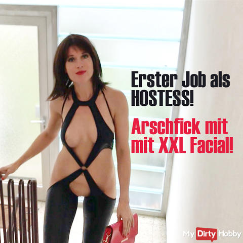 First perverted foreign fuck! Assfuck with XXL Facial!