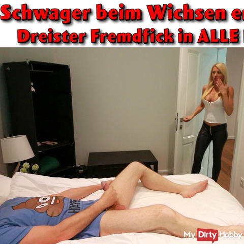 Schwager fucks his sister-in-law deep in the ass!