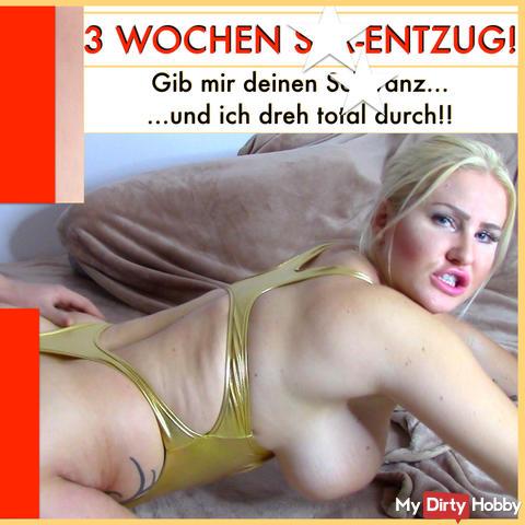 3 WOCHEN OHNE s*x!?! MEGA-cream**e!