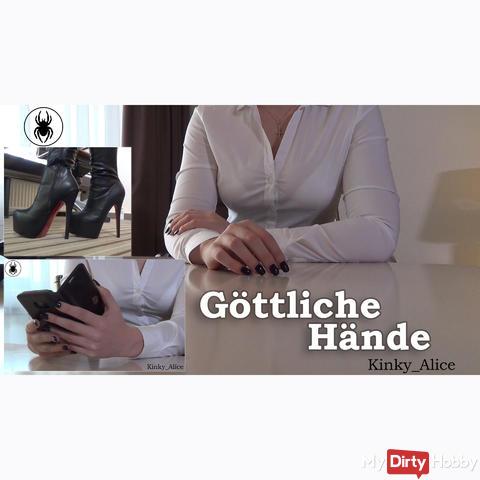 Göttliche Hände  -  Divine hands