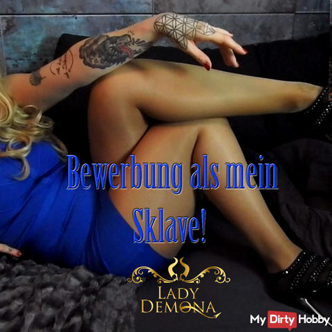 Application as my slave!   by Lady_Demona