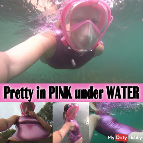 Pretty in PINK under WATER