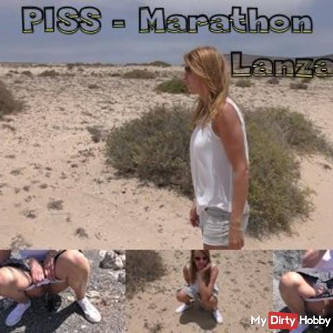 Piss-Marathon Lanzarote