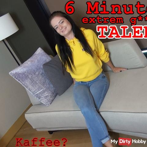 6 Minuten EXTREM geiles TALENT, für n Kaffee