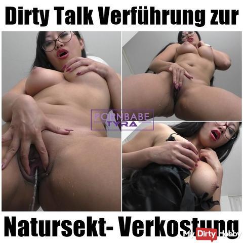 Seduzione di Dirty Talk per la degustazione della pipì