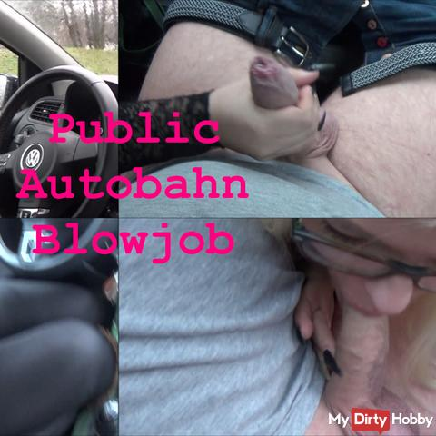 Public Autobahn Blowjob