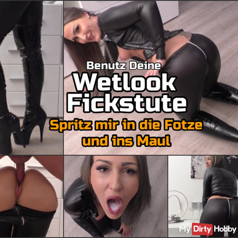 Your Wetlook Fickstute! double insemination