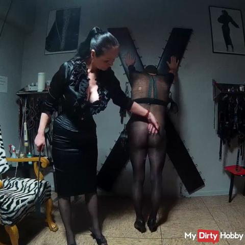 Education of my male slave hooker