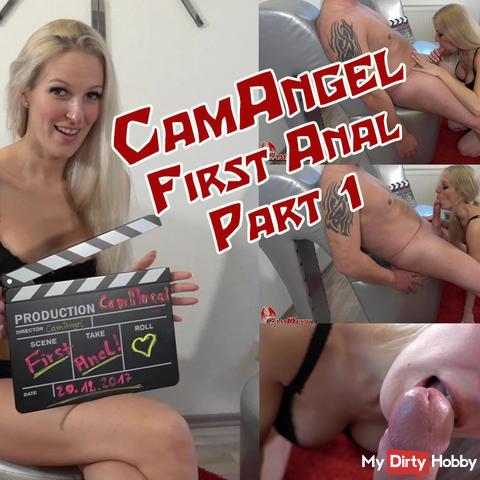 CamAngel anal defloration - Part 1