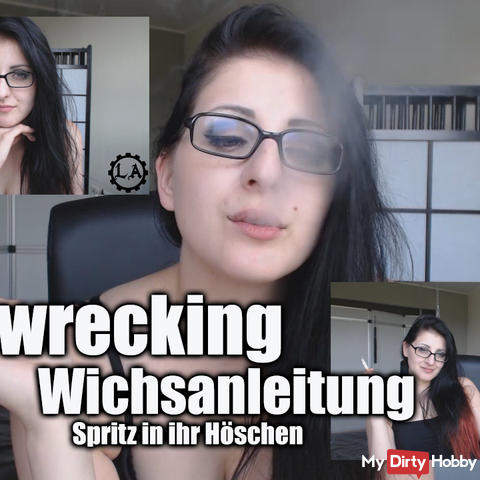 Homewrecking Wichsanleitung - spray in her panties