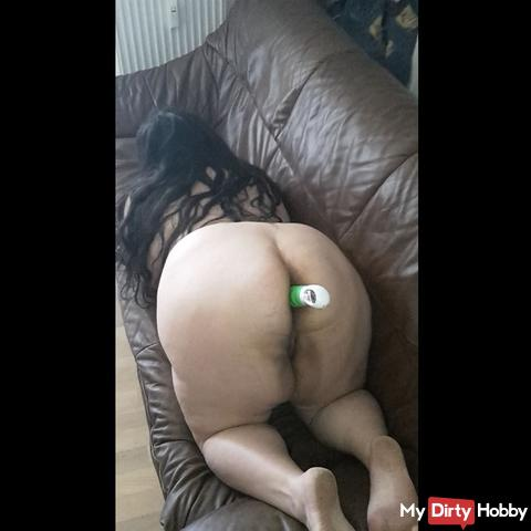 Dildo in the ass