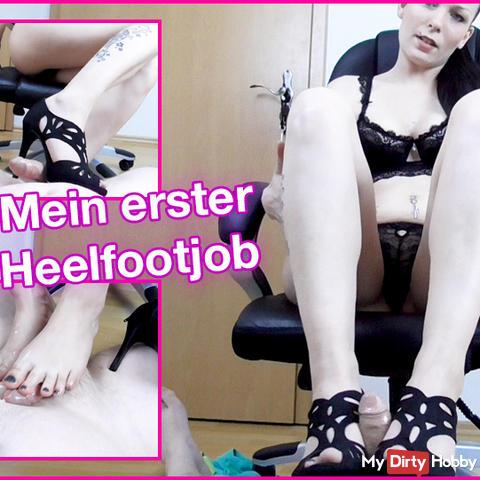 My first heel footjob