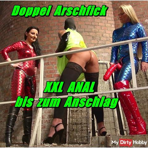 Double Arse Fuck - XXL ANAL until the Impact