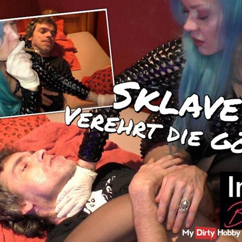Slave in wheelchair worshiped his divine mistress 4 - NS, Smoking, Spitting, UserDreh