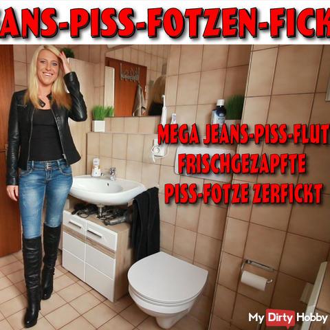 The naughty Jeanspiss-Fotzenfickhure!
