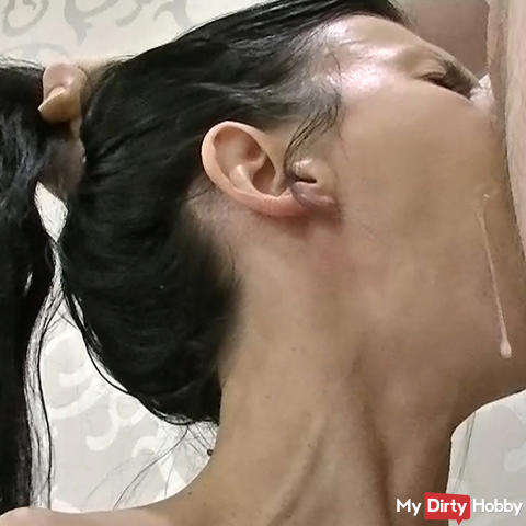 The Best Spit-Deepthroat ever !!!