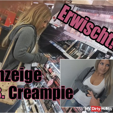 Caught! - Ad vs. Creampie !!!