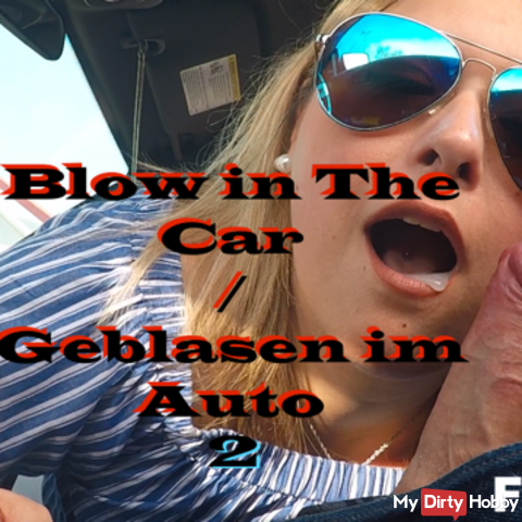 Blow in The Car part 2 / Blowjob in the car Part 2