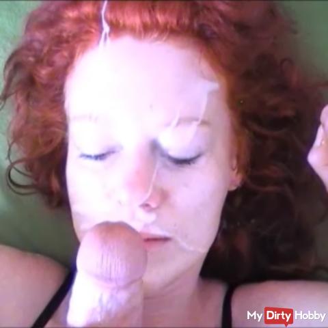 My facial cum ...