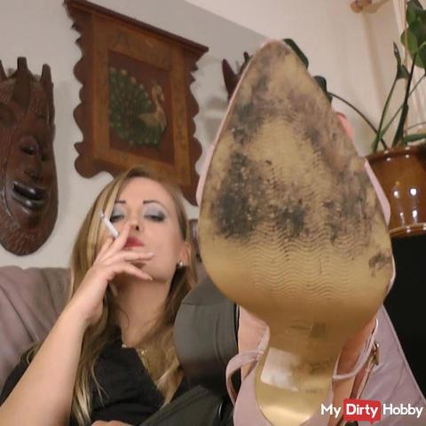 POV slingbacks - dirty soles