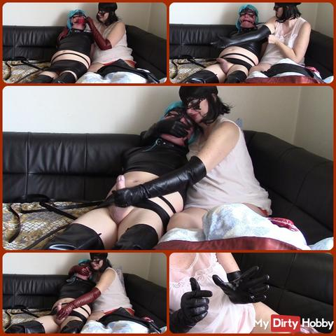 Marriage games (part three: Gloves HOM and handjob)