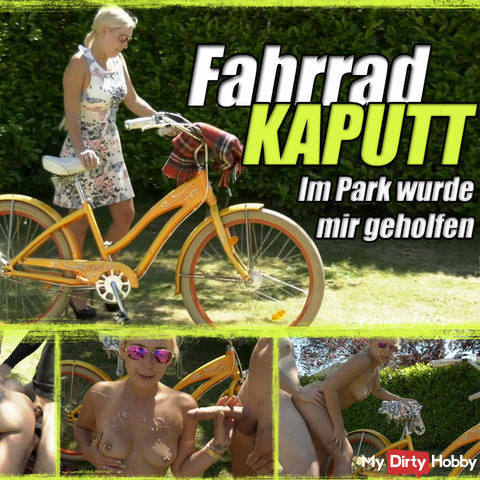 Bicycle KAPUTT - In the park I was helped