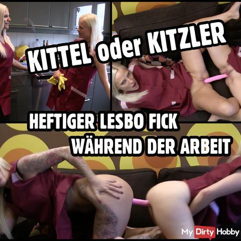 KITTEL ou KITZLER | Double gode de nettoyage salopes baise l'autre