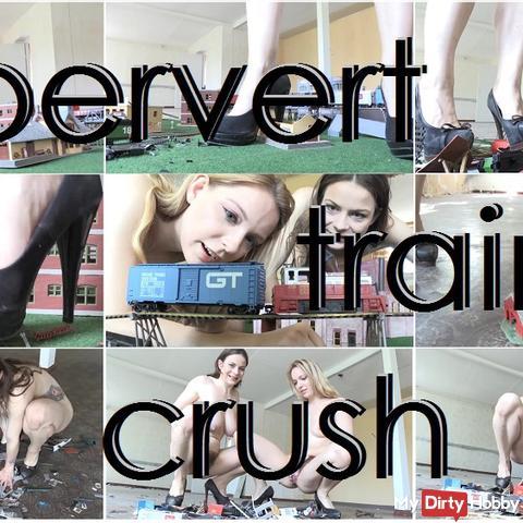 pervert train crush