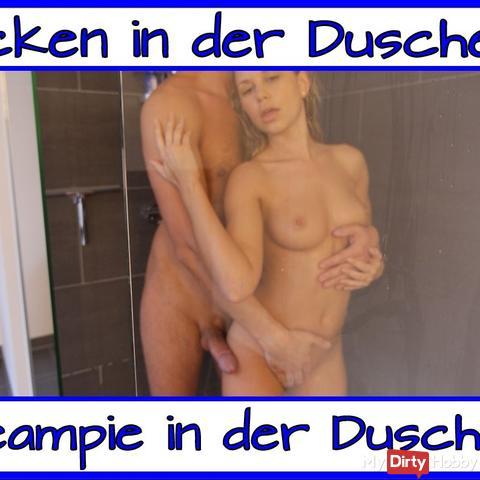 Couple dans la douche ...