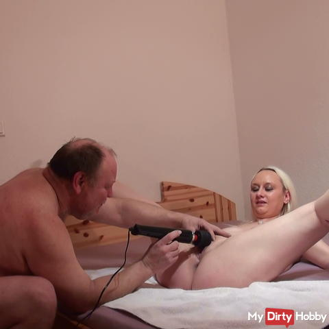 Hammer massage stick ultra hot orgasms in a row