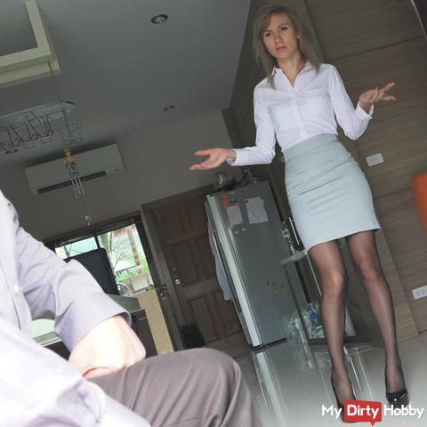 First training my secretary
