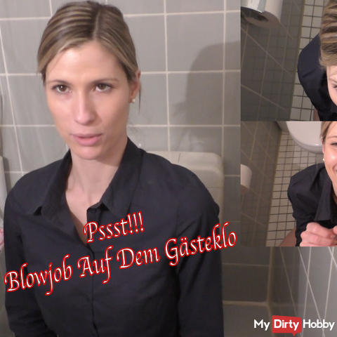Psst! New Years Blowjob On Guest Toilette!