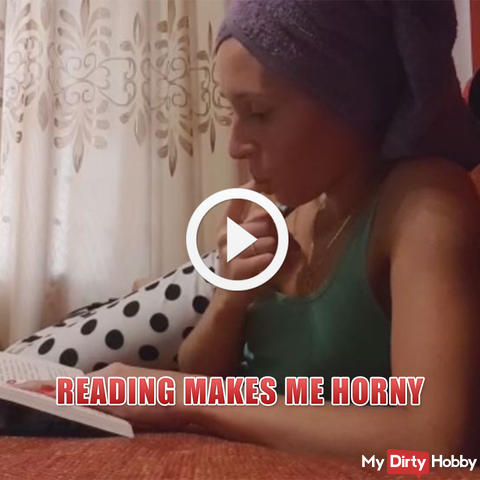 Reading makes me horny