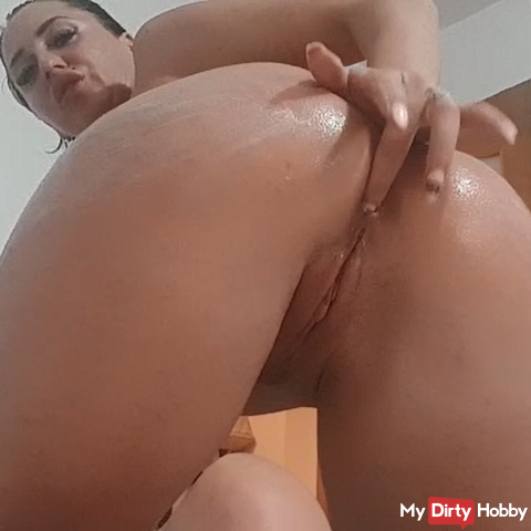 Cream in ass, anal and pussy play ! Come and get it !
