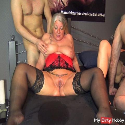 User GangBang with Mel-Miley and Rosella! Part 7