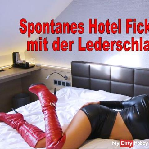 Spontaneous hotel fuck meet