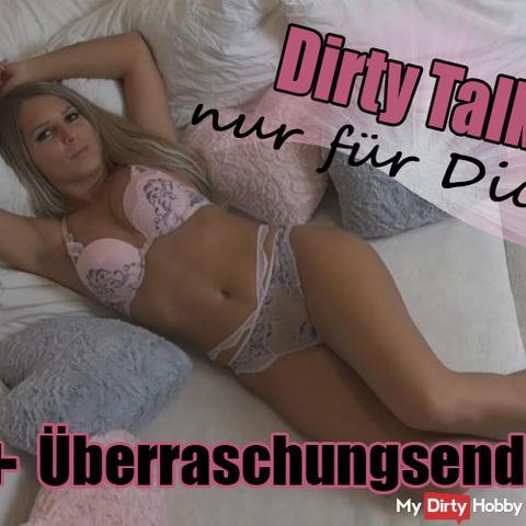 Dirty Talk nur für Dich! Mit Überraschungsende!