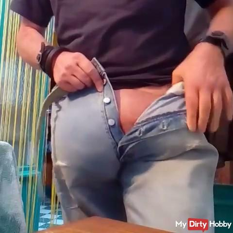 JEANS  BULGE,MY DAILY JEANS BULGE