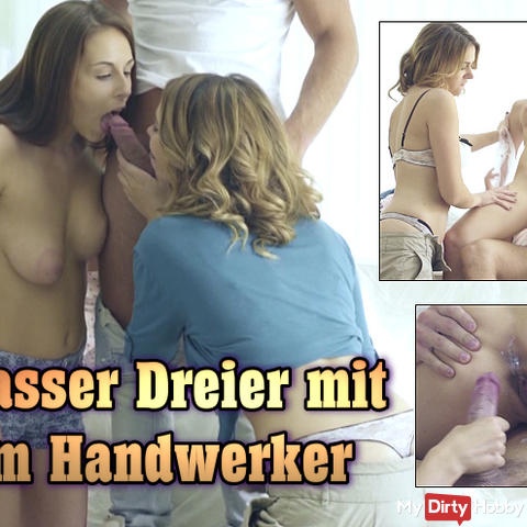 Krasser Dreier mit dem Handwerker