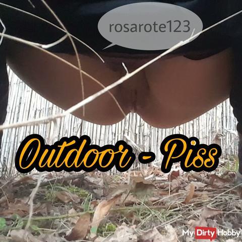 Outdoor Piss #Natursekt