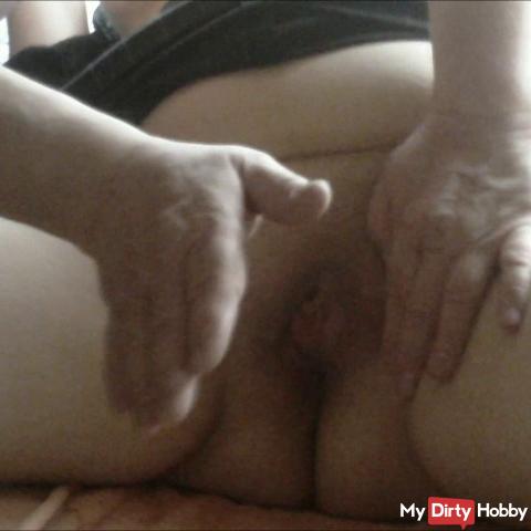 pussy fingered hard ..