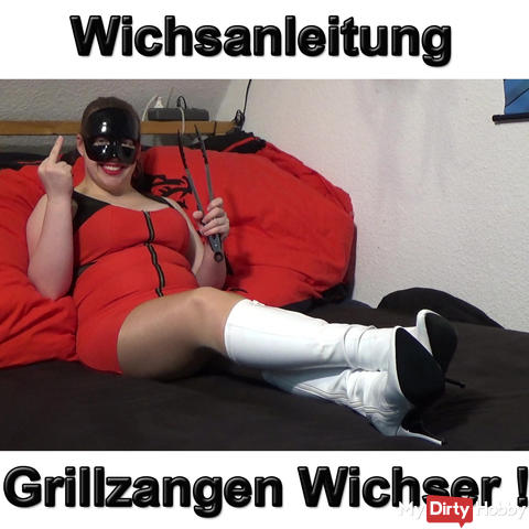 Wichsanleitung barbecue tongs wanker!
