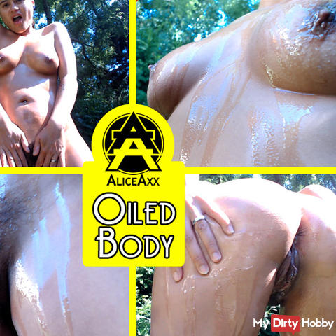 My oiled body
