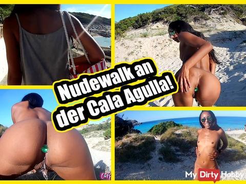 Nudewalk an der Cala Agulla ;)